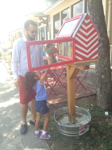 Little Library in SA